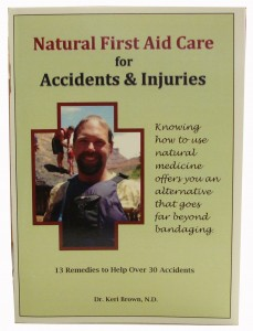 Accident and Injury Natural First AId Book